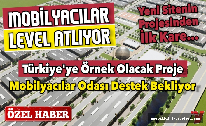 İNEGÖLLÜ MOBİLYACILAR LEVEL ATLIYOR