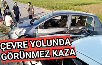 Çevre yolunda kaza